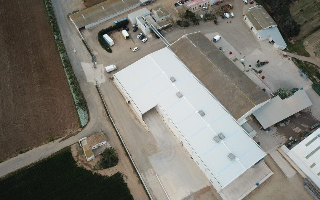 Ampliación nave producción agrícola «Verdcamp» en Cambrils